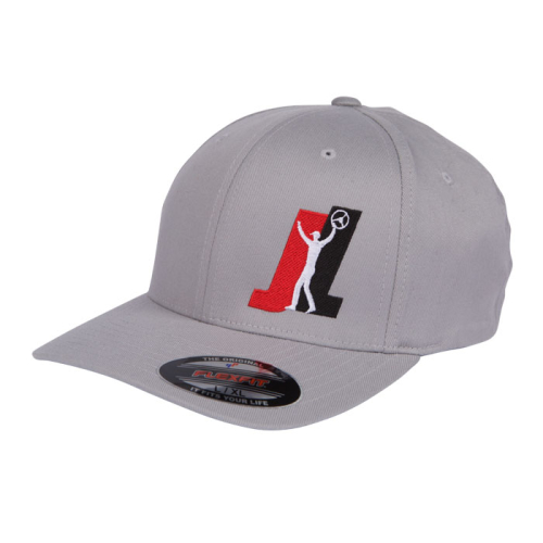 Team-JL-Grey-Flexfit-Hat