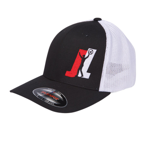 Team-JL-BlackWhite-Flex-Fit-Hat