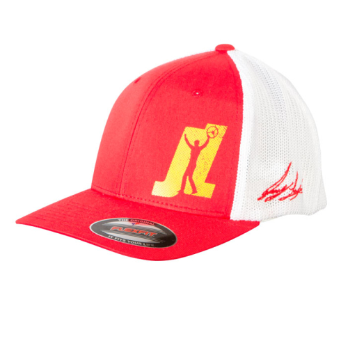 Team-JL-Double-Mesh-Flexfit-Hat_Red