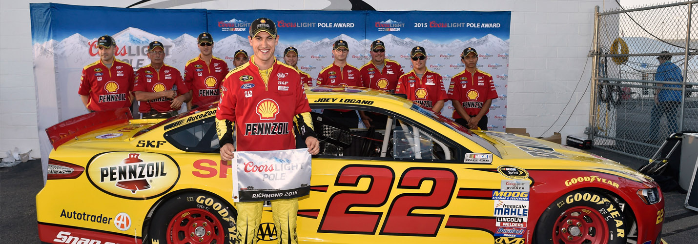 Logano Pole at Richmond