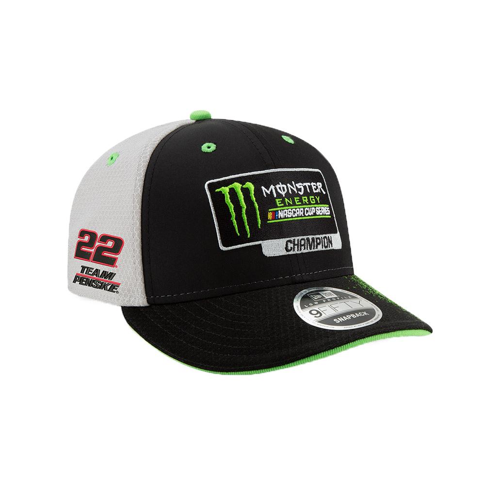 86ecc54c06a 2018 Championship New Era 950 Snapback Hat - Joey Logano